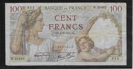 France - 100 Francs Sully - 6-11-1941 - Fayette N°26-60 - TB - 1871-1952 Gedurende De XXste In Omloop