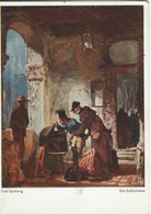 Painting: Carl Spitzweg - Die Zollrevision  Used Germany   # 07915 - Paintings