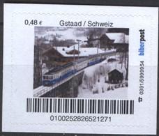 Biber Post Gstaad / Schweiz (Mountain Rail) (48)  G506 - BRD