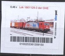 Biber Post Lok 1861129-3 Der OHE (E-Lok) (48)  G507 - BRD