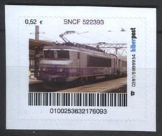 Biber Post SNCF 522393 (E-Lok) (52)  G509 - BRD