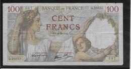 France - 100 Francs Sully - 4-12-1941 - Fayette N°26-62 - TB - 1871-1952 Anciens Francs Circulés Au XXème