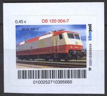 Biber Post DB 120 004-7 (E-Lok) (45)  G510 - BRD