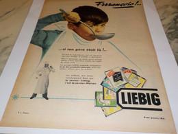 ANCIENNE PUBLICITE SOUPE LIEBIG  FRANCOIS 1955 - Posters