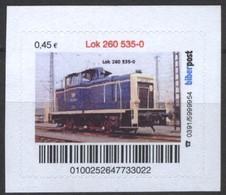 Biber Post Lok 260 535-0 (Diesel-Lok) (45)  G511 - BRD
