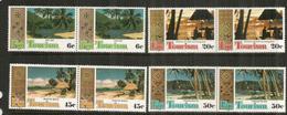 Les Plages Des îles FIDJI. 8 Timbres Neufs ** Se-tenant.  Côte 7,50 Euro - Fidji (1970-...)