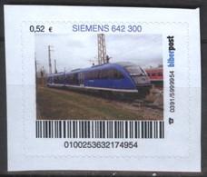 Biber Post Siemens 642 300 (Triebwagen) (52)  G512 - BRD
