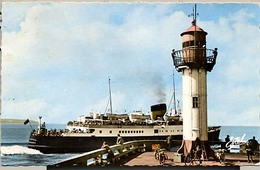 "76 - Dieppe -  Paquebot Le ""Brighton"" Sortant Du Port - Dieppe"
