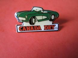 PIN'S  CANADA DRY  CORVETTE C 1 1957 - Corvette