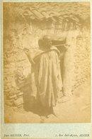 ALGERIE -  Kabile  - Carte CABINET - Photographe Jean GEISER - Circa 1880 - Afrique