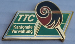 TENNIS DE TABLE CLUB  - PING PONG - KANTONALE VERWALTUNG BASLER - ASSOCIATION BALOISE - SCHWEIZ - SUISSE -      (6) - Table Tennis