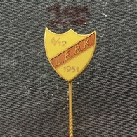 Badge Pin ZN006569 - Wrestling Sweden LEBK Lilla Edets BrottarKlubb Västergötland - Wrestling