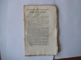 BULLETIN DES LOIS N° 1268 DU 15 JANVIER 1846 ORDONNANCE DU ROI PORTANT PROCLAMATION DE BREVETS D'INVENTION .......... - Gesetze & Erlasse