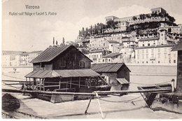 Verona - Mulini Sull'Adige E Castel S. Pietro - - Verona