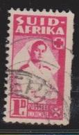 SOUTH AFRICA Scott # 91b Used - Nurse - Zuid-Afrika (...-1961)