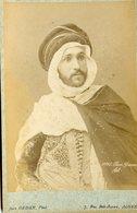 ALGERIE - Exceptionnel - BEN GANA Fils Et Sa Femme - Carte CABINET - Photographe Jean GEISER - Circa 1880 - Afrique