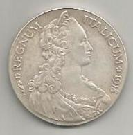 Italia, Eritrea, 1918, Tallero Italicum Ag. Riconio, Restrike. - Colonies