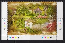 2.- SINGAPORE 2015 SINGAPORE BOTANIC GARDENS - UNESCO WORLD HERITAGE SITE - Singapore (1959-...)
