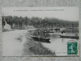 COURLON LA CABANE DU PASSEUR ET LA RESSERRE DES BATEAUX DE PECHE - Other Municipalities