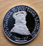 Luxembourg (Luxemburg) - 20 ECU 1993 - Henri VII Comte De Luxembourg 1288-1309 (avec Certificat) - Luxembourg