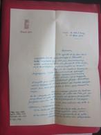 LETTRE FILIGRANE ENTÊTE MANUSCRITE A BORD C/C VILLE D'ORAN-1952-BATEAU FRENCH LINE MESSAGERIE MARITIME ALGÉRIE FRANÇAISE - Barche