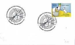29678. Carta SANTANDER 2011. Reunion Sociedad Española FISICA - 1931-Hoy: 2ª República - ... Juan Carlos I