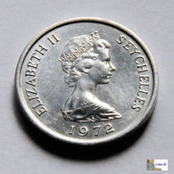 Seychelles - 1 Cent - 1972 - UNC - Seychelles