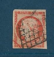 France Timbre De 1949/50  Type Céres  N°5 Oblitéré  Tres Beau Cote 500 € Mise A Prix A 15% - 1849-1850 Cérès