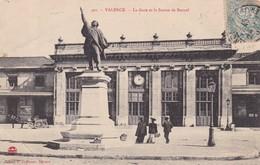 26 / VALENCE / LA GARE ET LA STATUE DE BANCEL - Valence