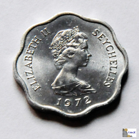 Seychelles - 5 Cents - 1972 - UNC - Seychellen