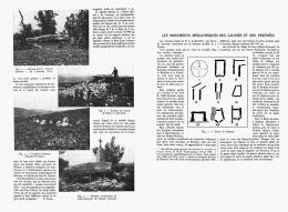 LES MONUMENTS MEGALITHIQUES DES CAUSSES Et Des PYRENEES  1909 - Midi-Pyrénées