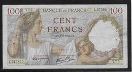 France - 100 Francs Sully - 8-1-1942 - Fayette N°26-64 - TB - 1871-1952 Anciens Francs Circulés Au XXème