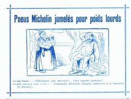 "PUB  PNEUS    "" MICHELIN  ""  1909 (2) - Transports"