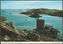 Cromwell's Castle, Tresco, Isles Of Scilly, C.1970s - J H Thomas Postcard - Scilly Isles
