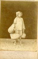 ALGERIE - Jeune BISKRI YAOULE - Carte CABINET - Photographe A  LEROUX - Circa 1880 - Afrique