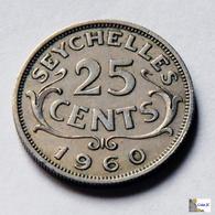 Seychelles - 25 Cents - 1960 - Seychelles