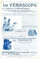 "PUB "" VERASCOPE RICHARD ""   1903 (5) - Photography"