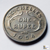 Seychelles - 1 Rupee - 1954 - Seychelles