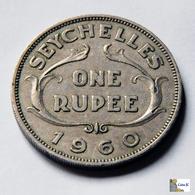 Seychelles - 1 Rupee - 1960 - Seychelles