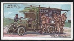 Vieux Papiers > Chromos & Images > Non Classés Wills S Cigarettes  MILITARY MOTORS RESTAURANT N°13 - Old Paper