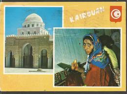 TUNISIA KAIROURAN, PC , Circulated - Tunesien