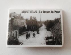 Fève Au Fournil Du Val De Loire MONTJEAN  La Route Du Pont - Regions