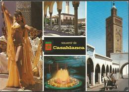 MOROCCO CASABLANKA, PC , Circulated - Casablanca