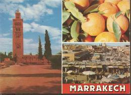 MOROCCO MARRAKECH, PC , Circulated - Casablanca
