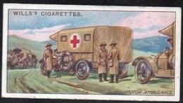 Vieux Papiers > Chromos & Images > Non Classés Wills S Cigarettes  MILITARY MOTORS MOTOR AMBULANCE N°50 - Old Paper