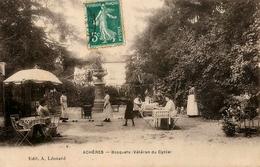 Achères - Bosquets ( Vétéran Du Cycle ) - Restaurant - Jeu De La Grenouille - Jeux Altères - Belle Animation - AA64 - Acheres