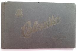 INDE - CALCUTTA - Rare Carnet De 8 Cartes: Montreur D'ours: Dresseur De Serpents Et De Singes:  Barbier - India