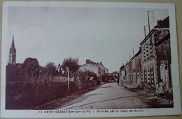 44  SAINT  SEBASTIEN  SUR  LOIRE   ARRIVEE  PAR  LA  ROUTE  DE  NANTES - Saint-Sébastien-sur-Loire