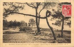 MAURET-PLAGE - Bassin D'Arcachon - Bord De Plage Du Boulevard De L'Union - Arcachon