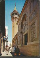 TUNISIA MOSQUEE HAMED PASHA, PC , Circulated - Tunesien